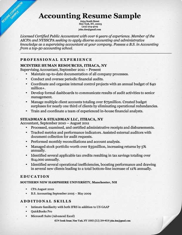 Más de 25 ideas increíbles sobre Accountant resume en Pinterest - entry level accounting resume