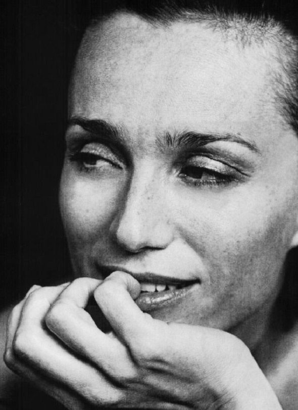 Kristin Scott Thomas by Peter Lindbergh