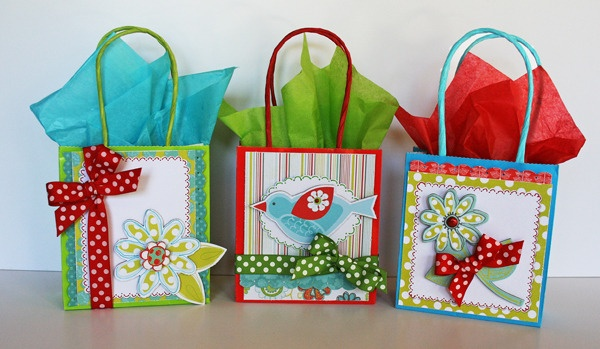 Colourful ideas for paperbag
