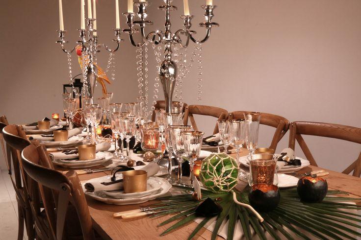 Table de mariage thème Pirates des Caraïbes - Scénographie Carine Pinon
