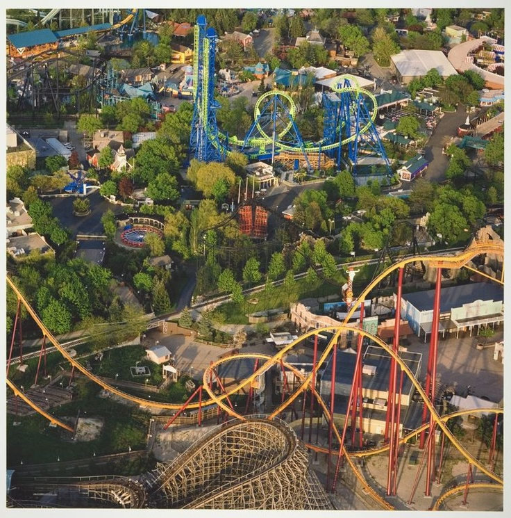 For thrills, we head over to Great America in Gurnee for the day near Rockford, IL