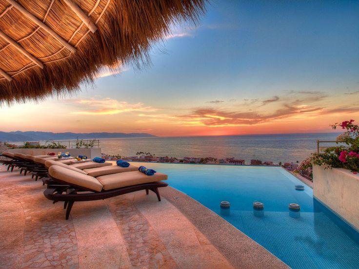 Da questa incantevole villa in Messico vedrai un tramonto mozzafiato!
