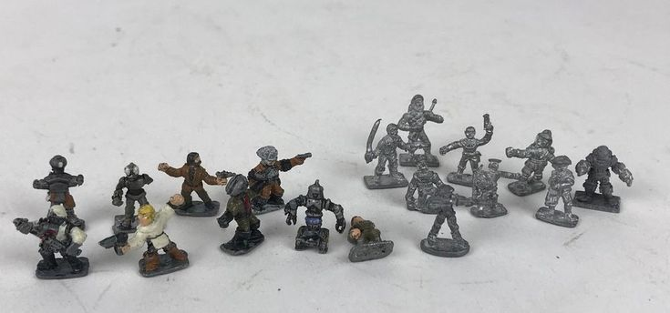 Lot 70 D&D Dungeons Dragons Ral Partha Lead Mini/sml Figures wizard warrior 70s #DungeonsDragons