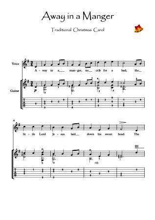 away in a manger lyrics pdf
