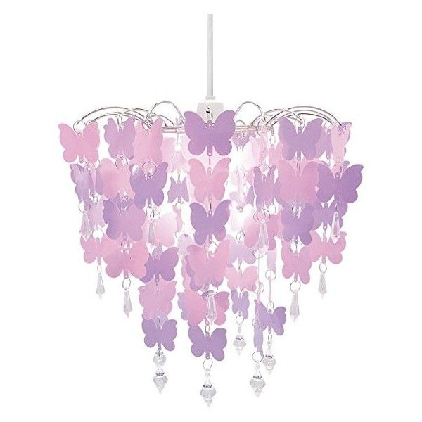 Easy Fit Universal Pink Erflies Light Decoration Ceiling Lamp 13 Cad