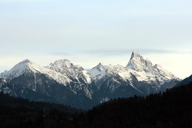 Mt Cheam range Chilliwack, BC