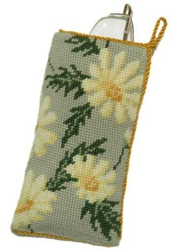 Marguerite Glasses/Spectacle Case tapestry kit