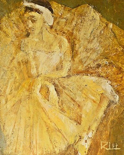 Rodica Lazăr (1931-2009) Balerina/ Ballerina