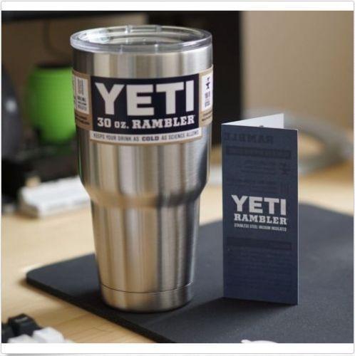 YETI Rambler Tumbler 30 oz Stainless Steel #YETI
