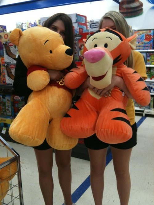 Just because an animal is large, it doesn't mean he doesn't want kindness; however big Tigger seems to be, remember that he wants as much kindness as Roo.  -- Roo, Pooh's Little Instruction Book, inspired by A. A. Milne