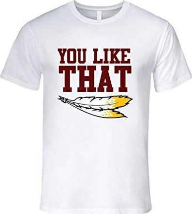 Gee's Tees Men's You Like That Kirk Cousins Washington T-Shirt