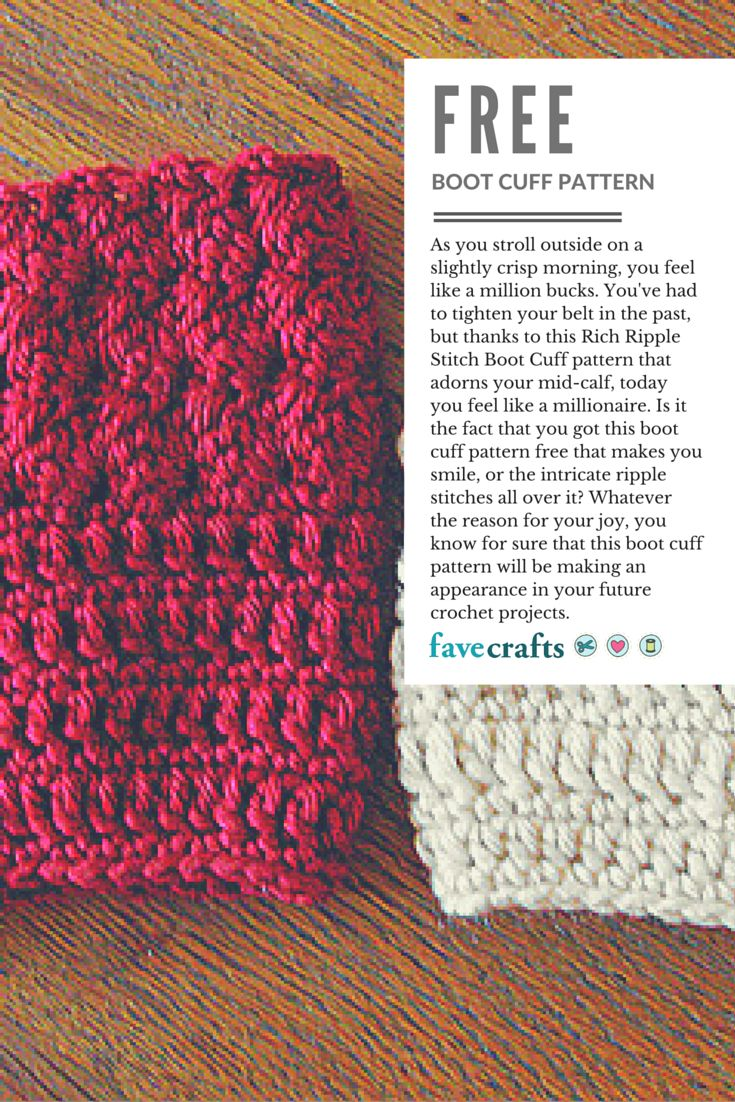 388 best Boot Cuffs images on Pinterest   Crochet boots, Boot ...