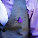 Origami and purple. 2 of Nick's favorite things. <3