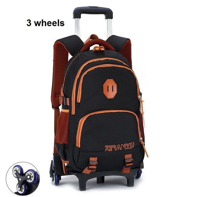 Fashion Girls Children School Bags Boys Trolley Bag With Wheels Kids Trolley School Bag Mochila De Rodinhas Infantil Bolsos