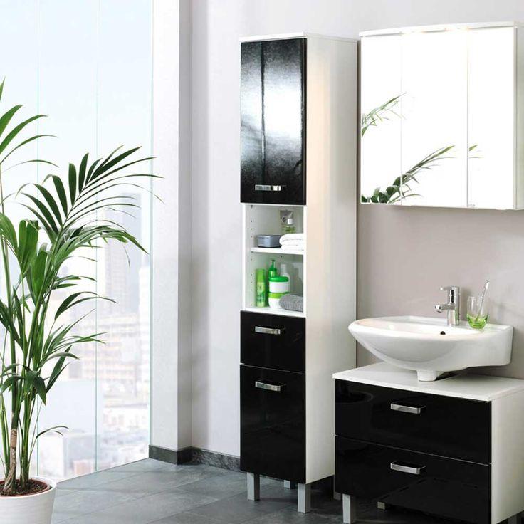 die besten 25 schmaler badezimmerschrank ideen auf pinterest kleines schmales badezimmer. Black Bedroom Furniture Sets. Home Design Ideas