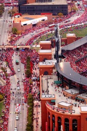Busch stadium, St Louis: Cardinal Fan, St Louis Cardinals, Cardinals Nation, Stl Cardinals, Victory Parade, Cardinals Baseball, Cardinal Nation