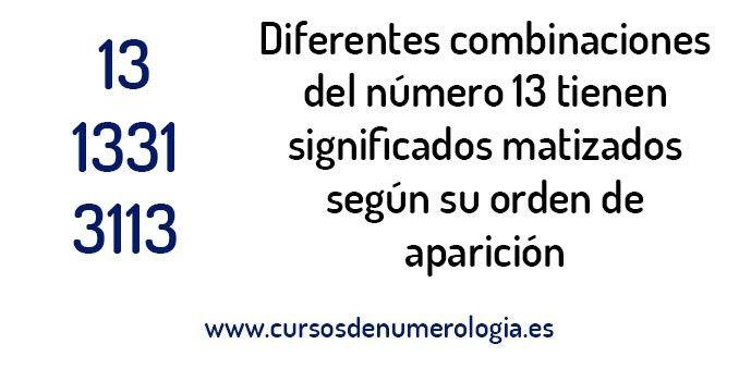 significado de ver el número 13 #numero13 #numerologia #13 #numero31