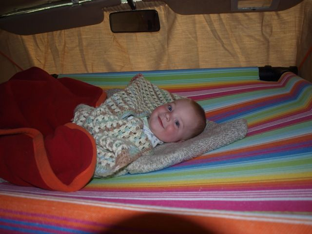 front seat hammock bed for toddler