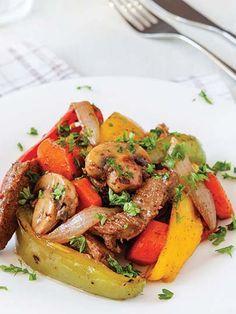 Sebzeli biftek Tarifi - Türk Mutfağı Yemekleri - Yemek Tarifleri
