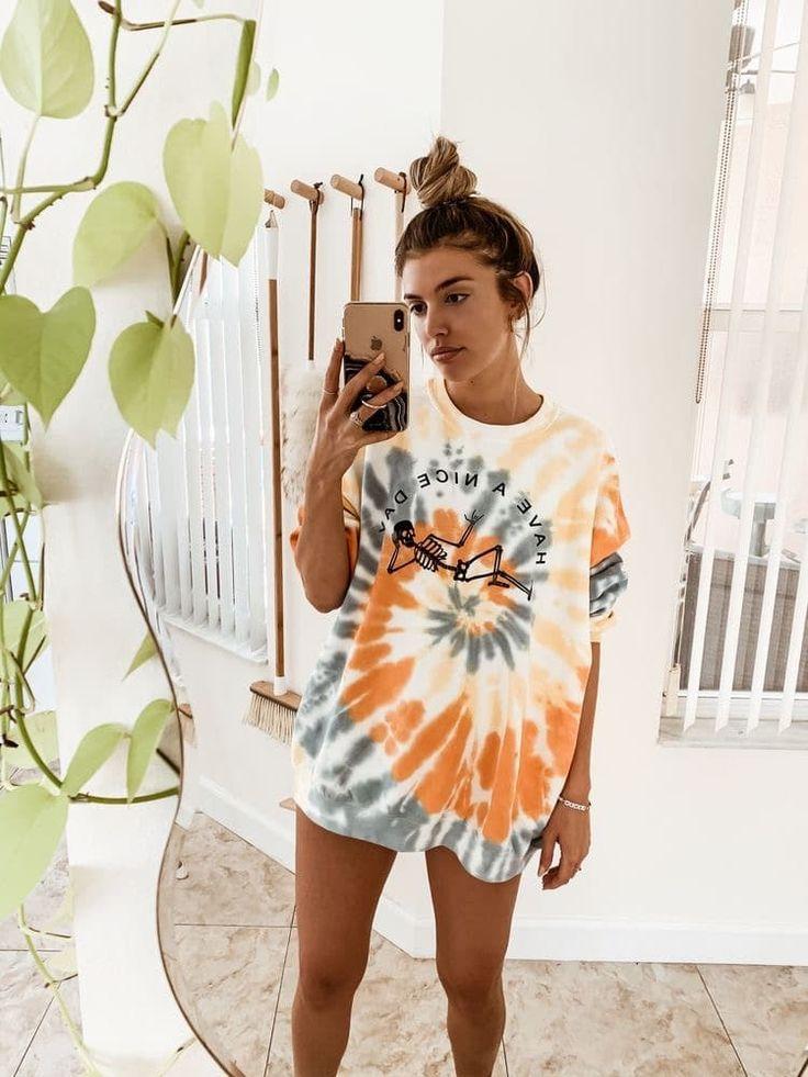 23 looks tie dye para inspirar + opções de compra em 2020 | Roupas tie dye, Moda tie dye, Tie dye