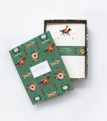 Pony Express Social Stationery Set from Rifle Paper.