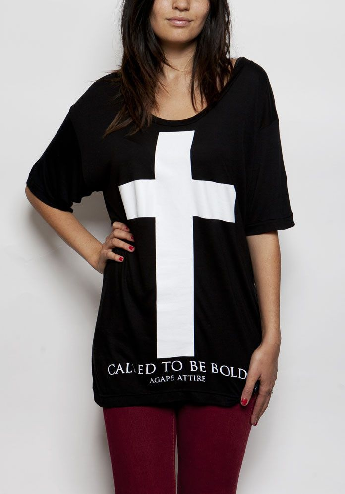 """""""Called To Be Bold"""" Flowy Tee - Agape Attire"""