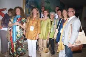 Our group at the 1st World Parliament on Spirituality. India 2012