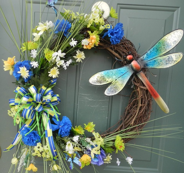 Quot Love This Dragonfly Wreath Quot Dragonfly Dreams 184 184 ʚįɞ