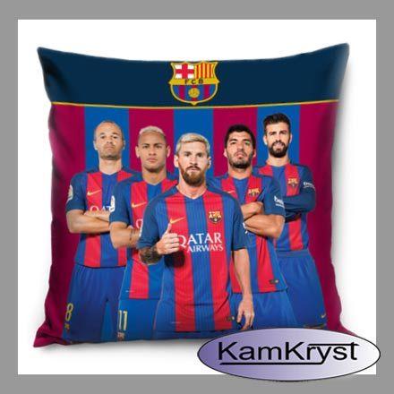 I coś jeszcze dla fanów Barcelony - jasiek 40x40 cm lub poszewka bawełniana