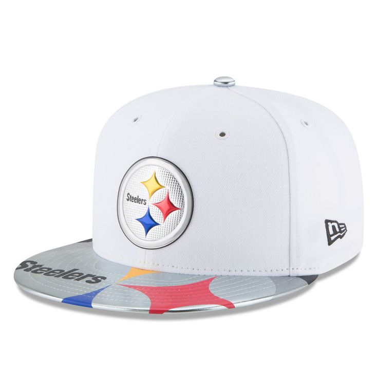 Pittsburgh Steelers New Era Youth 2017 NFL Draft Official On Stage 59FIFTY Fitted Hat - White