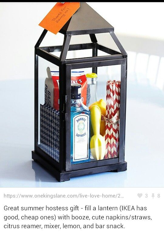 New home gift for LG.... but with birdhouse and materials needed to paint and birdfeed :)