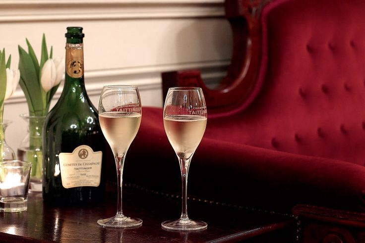 Champagne by the glass available at Syracuse