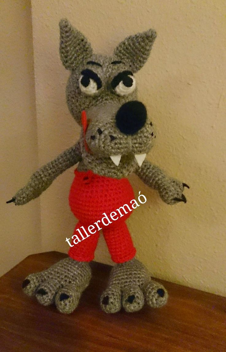 Lobo Amigurumi Tutorial : 1000+ images about amigurumis on Pinterest