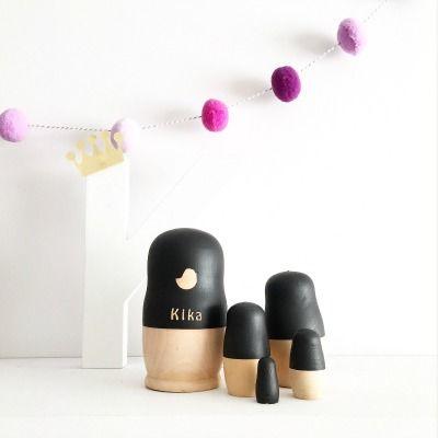 Customizable Nesting Dolls by Tiger Lily Tots