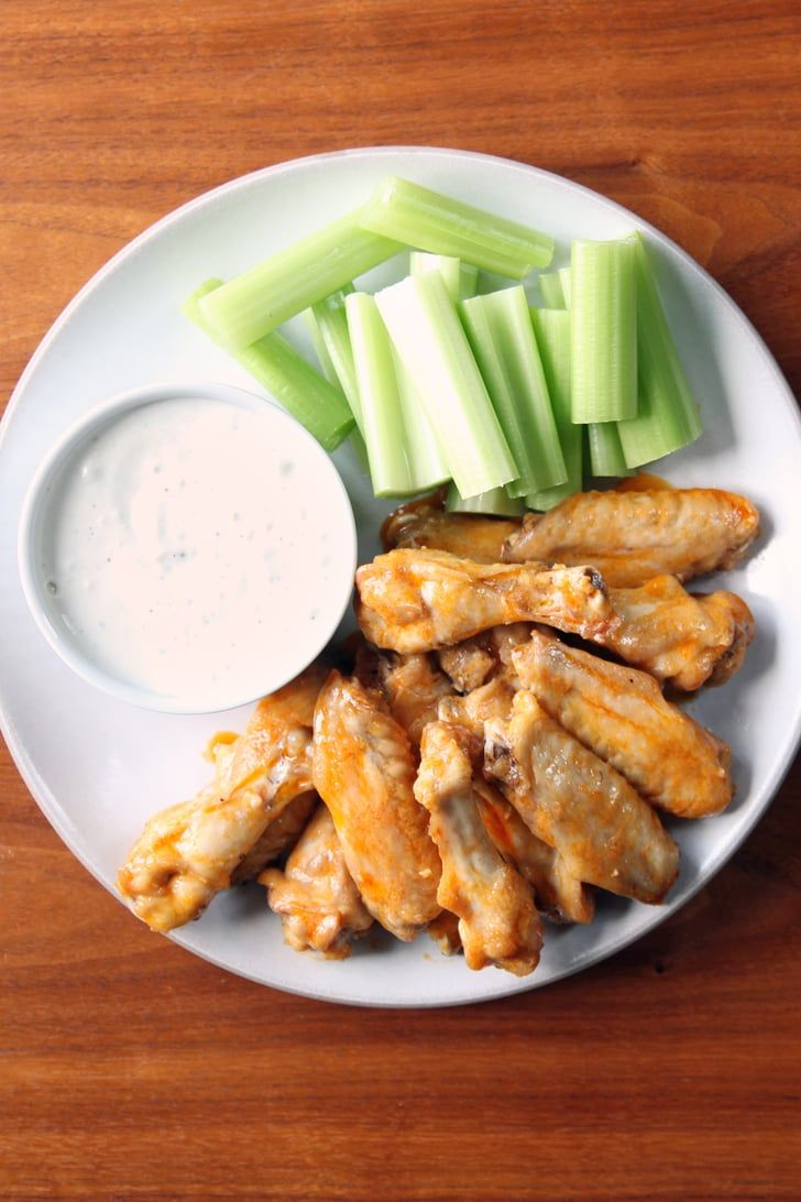 Alton Brown Recipes- Baked buffalo wings: a game-day classic without all the muss and fuss.