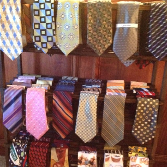 Best Tie Racks For Closets: The Tie Rack I Just Finished For My Husband. Two Wooden