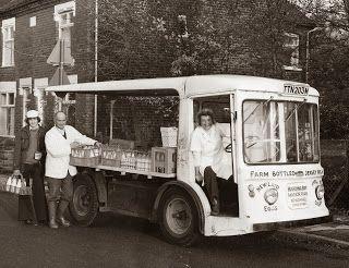 Milk Float + Milk Men