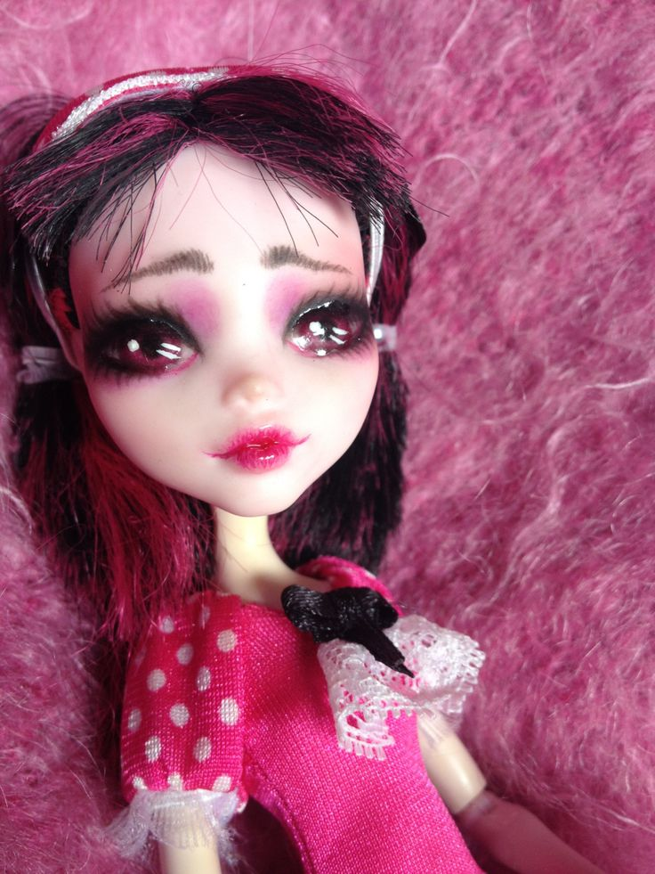 RESERVED for COOKIE OOAK Monster High Repaint by BuiltByBecca