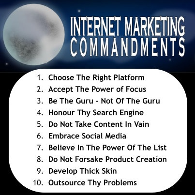 1. Choose The Right Platform Harness the power of a flexible platform like Wordpress 2. Accept The Power of Focus Follow one path, Choose one niche, then rinse & repeat 3. Be The Guru - Not Of The Guru Everyone that claims to be a Guru isn'...See more
