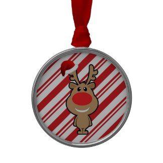 Holiday of funny Christmas santa Christmas Ornaments