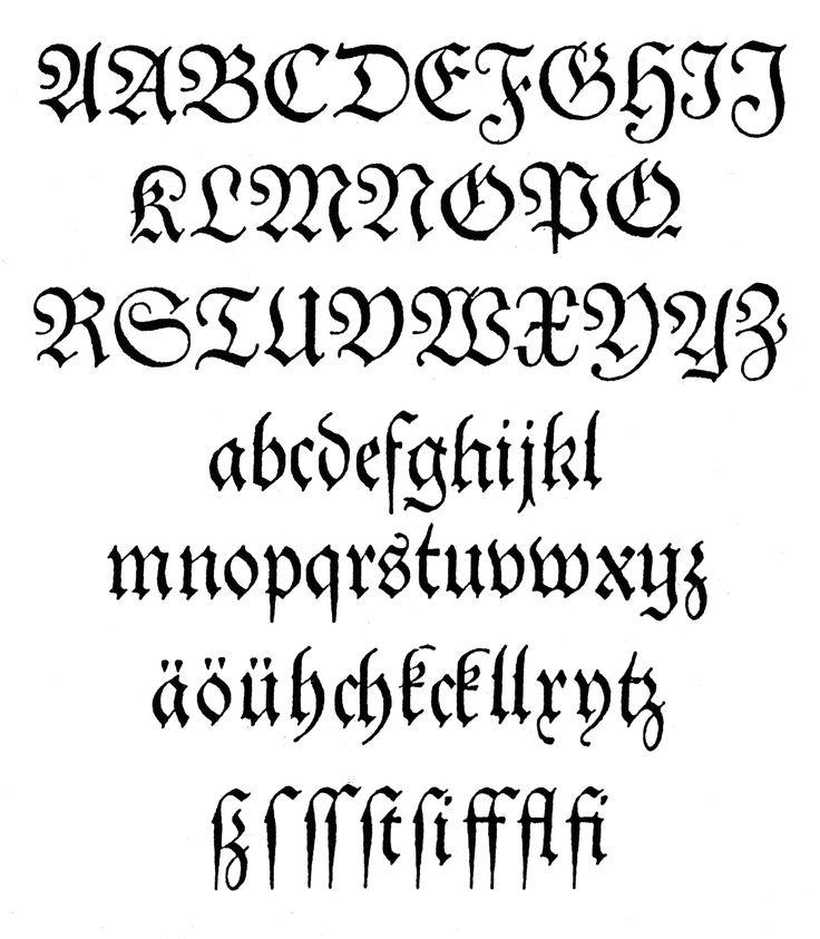 Western Calligraphy   external image Theuerdank-Fraktur.jpg