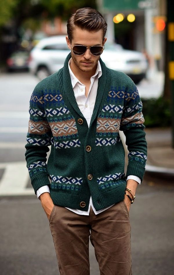 42 Comfy Winter Fashion Outfits for Men in 2015