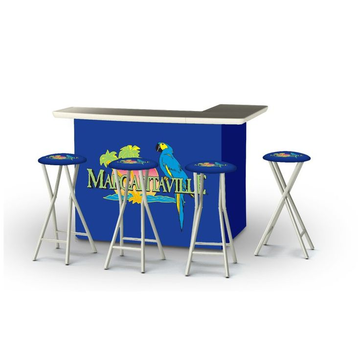 Best Of Times 5 Piece Portable Outdoor Bar Set   2002W2308