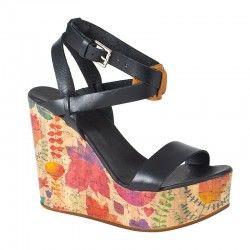 Platform - CALISTA- Rengarenk tasarım... #platform #topuklu #ayakkabı #indirim Ürünü incele : http://www.keyfipasaj.com/platform-calista-1