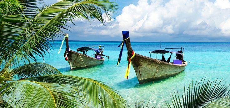 Oplev Krabi, som er kendt for sin smukke natur, kalkstensøer og paradisiske strande. Find inspiration til din rejse til Krabi i Thailand her