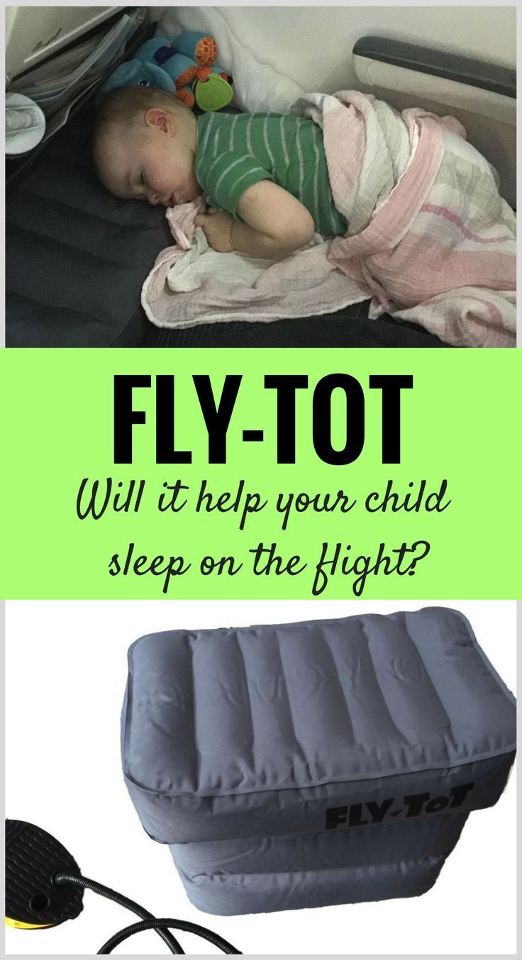 Heard of the Fly-Tot? Will it help your child sleep on the flight? Read more at www.BabyCanTravel.com/blog