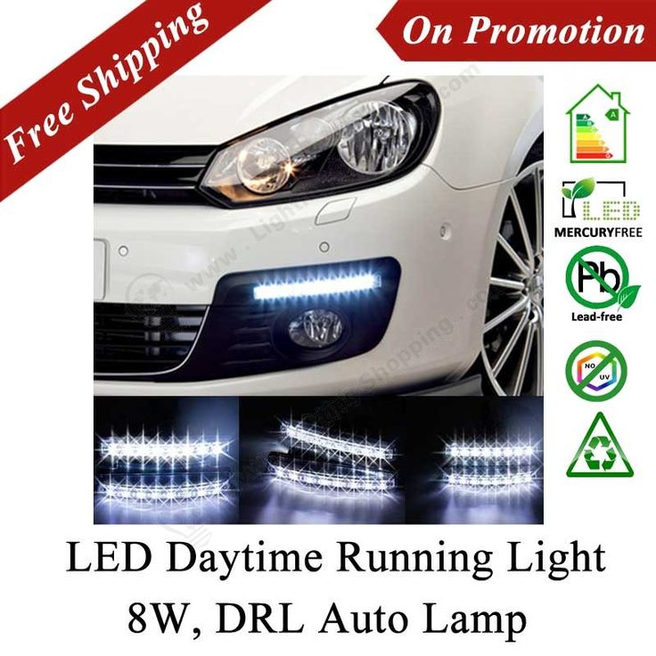 Best Price LED Daytime Running Light, DRL Auto Lamp, 2PCS/Lot, DC12V, 8W, Universal Model - See more at: http://www.lightingshopping.com/best-price-led-daytime-running-light-drl-auto-lamp-2pcs-lot-dc12v-8w-universal-model.html