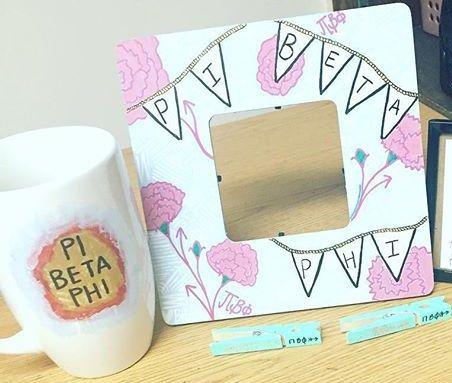 Pi Beta Phi crafts #piphi #pibetaphi