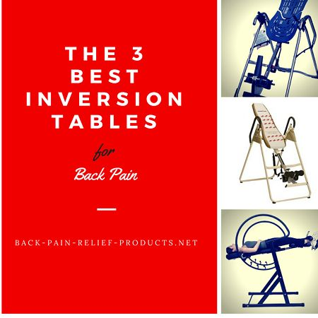 The 2 best inversion tables for back pain relief in 2015 (and why)