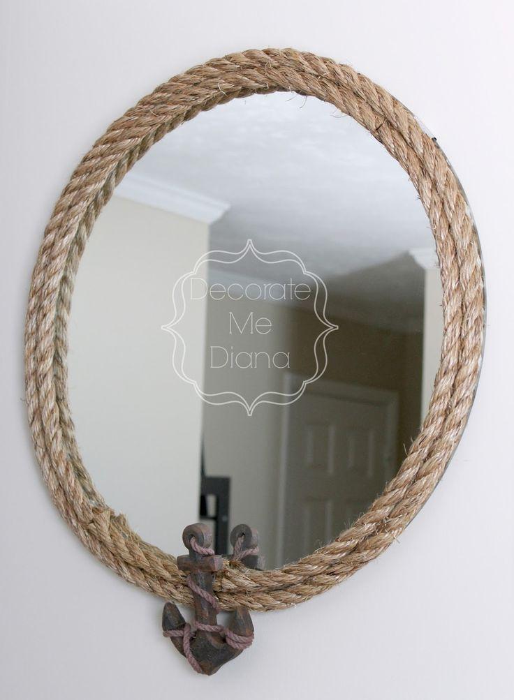 down oxford street diy nautical mirror